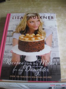 Lisa Faulkner cook book